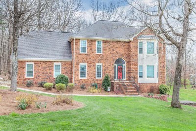Signal Mountain Single Family Home For Sale: 2416 Fox Run Dr