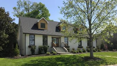 Chattanooga Single Family Home For Sale: 1705 Dorchester Rd