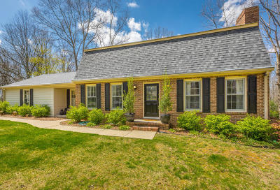Signal Mountain Single Family Home For Sale: 1248 Mountain Brook Cir