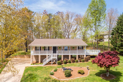 Soddy Daisy Single Family Home Contingent: 9921 Shore Dr