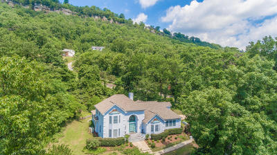 Signal Mountain Single Family Home For Sale: 1525 Sunset Dr