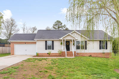 Ooltewah Single Family Home Contingent: 7781 Bacon Meadow Dr #31
