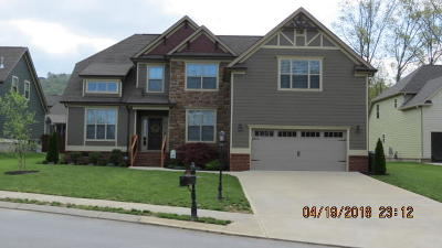 Ooltewah Single Family Home Contingent: 6672 Satjanon Dr #92