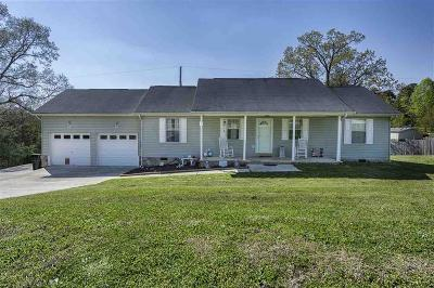 Soddy Daisy Single Family Home Contingent: 12391 Pendergrass Rd