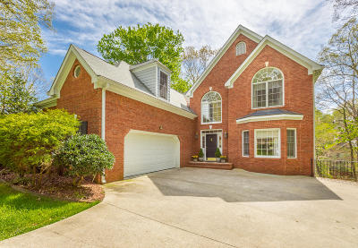 Soddy Daisy Single Family Home For Sale: 1814 Oak Cove Dr
