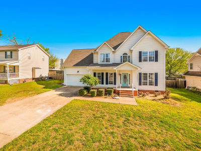 Chattanooga Single Family Home Contingent: 8309 Wexford Ln