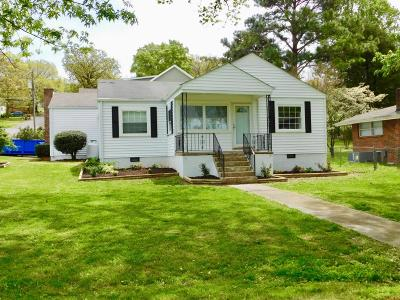 Chattanooga Single Family Home Contingent: 1554 N Concord Rd
