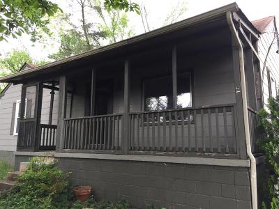Chattanooga TN Single Family Home For Sale: $59,000