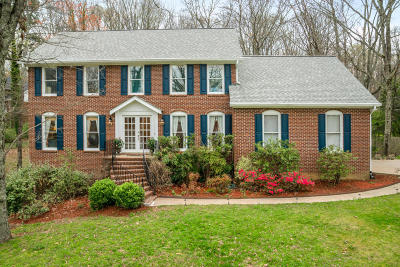 Signal Mountain Single Family Home For Sale: 2310 Fox Run Dr