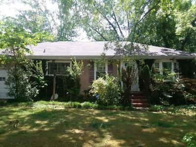 Chattanooga Single Family Home Contingent: 3614 Koons Rd #8