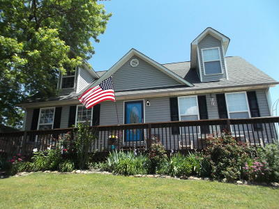 Single Family Home For Sale: 2233 Oak Hill Rd