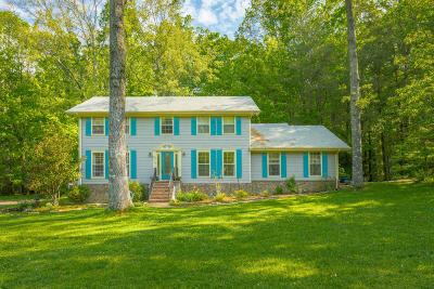 Signal Mountain Single Family Home Contingent: 5 Whispering Pines Dr Dr