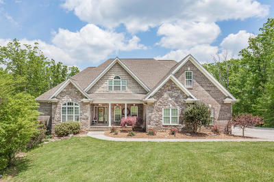 Ooltewah Single Family Home Contingent: 9731 Deer Ridge Dr