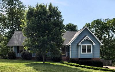 Soddy Daisy Single Family Home Contingent: 1218 Woodsage Dr