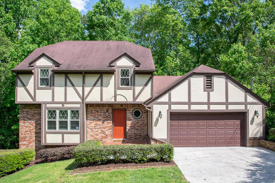 Chattanooga Single Family Home For Sale: 2530 Cross Winds Ln