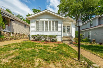 Chattanooga Single Family Home Contingent: 803 Young Ave