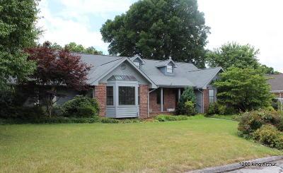 Chattanooga Single Family Home For Sale: 1200 King Arthur Rd