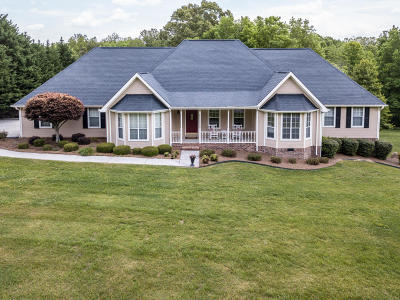 Ringgold Single Family Home Contingent: 520 Chapman Rd