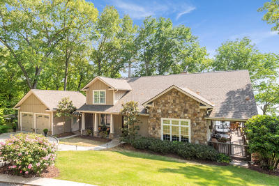 Soddy Daisy Single Family Home For Sale: 1727 Bream Ln