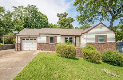 Chattanooga Single Family Home For Sale: 1223 W Fairfax Dr