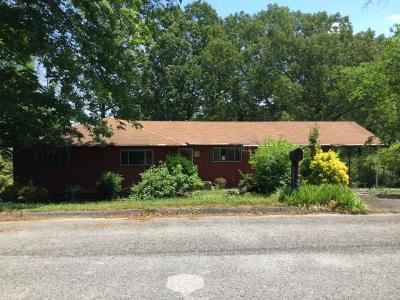 Chattanooga TN Single Family Home For Sale: $54,900