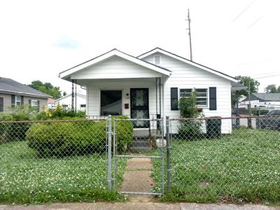 Chattanooga TN Single Family Home For Sale: $29,700