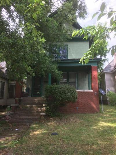Chattanooga TN Single Family Home For Sale: $135,000
