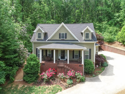 Soddy Daisy Single Family Home Contingent: 9809 Indian Ridge Ln