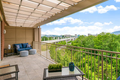 Chattanooga Condo For Sale: 4 Cherokee Blvd #421