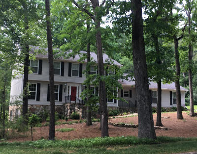 Signal Mountain Single Family Home For Sale: 34 Carriage