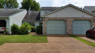 Chattanooga Townhouse For Sale: 6706 Hickory Brook Rd