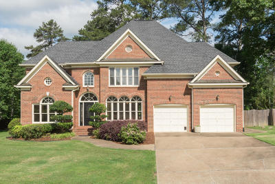 Chattanooga Single Family Home For Sale: 1603 Ashley Mill Dr