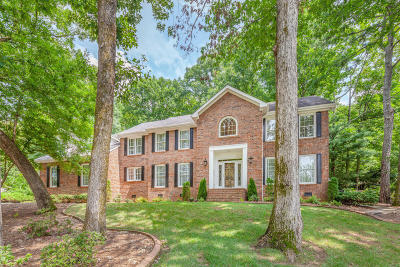 Signal Mountain Single Family Home For Sale: 20 Rock Crest Dr
