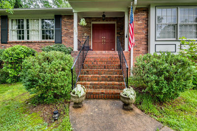 Signal Mountain Single Family Home For Sale: 601 Marr Dr