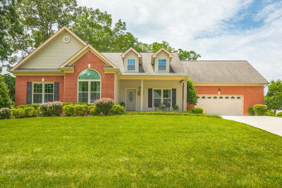 Soddy Daisy Single Family Home Contingent: 12943 Chelle Dr