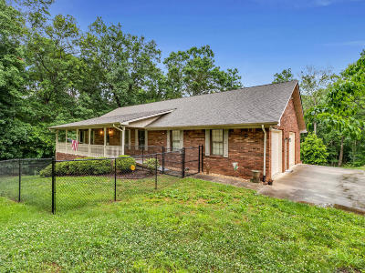 Soddy Daisy Single Family Home Contingent: 12328 Armstrong Rd