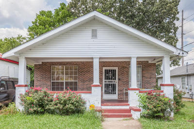 Chattanooga Single Family Home Contingent: 2111 Oak St