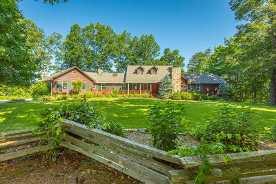 Signal Mountain Single Family Home For Sale: 8999 Big Bend Rd