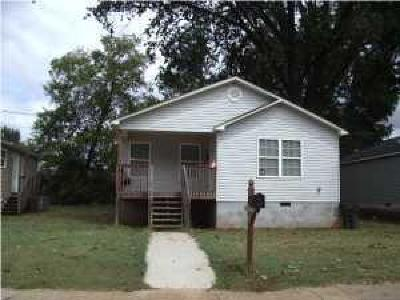 Chattanooga Single Family Home For Sale: 1691 Walker St #11