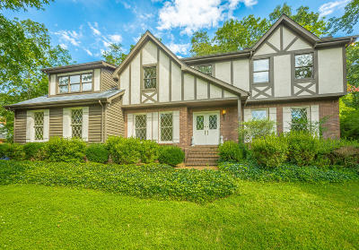 Signal Mountain Single Family Home For Sale: 19 Middle Creek Rd