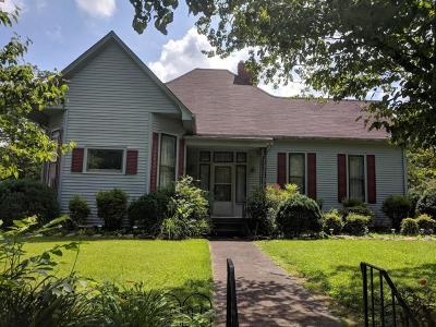 Sweetwater Single Family Home For Sale: 602 Mayes Ave