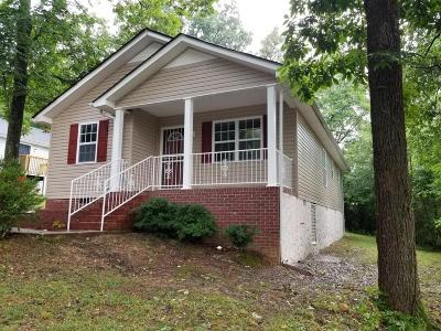 Chattanooga TN Single Family Home For Sale: $115,000