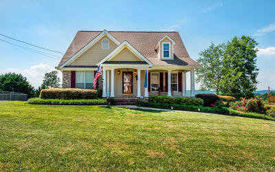 Ringgold Single Family Home Contingent: 871 Castleview Dr