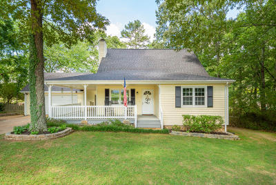 Chattanooga Single Family Home Contingent: 2424 Daugherty Ln