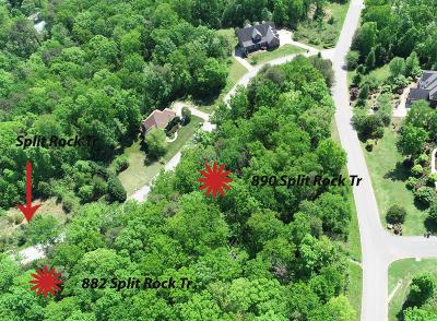 Hixson Residential Lots & Land For Sale: 882 Split Rock Tr