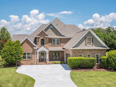 Ooltewah Single Family Home Contingent: 8505 Rambling Rose Drive Dr