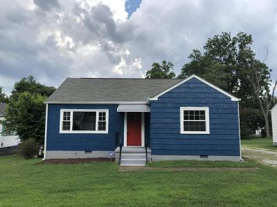 Chattanooga TN Single Family Home For Sale: $129,500