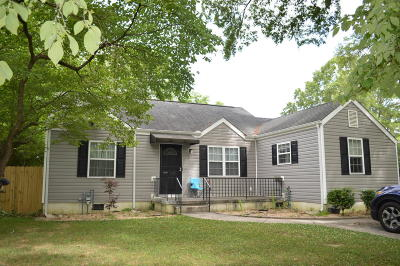 Chattanooga TN Single Family Home For Sale: $123,900