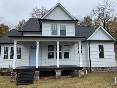 Chattanooga TN Single Family Home For Sale: $319,700