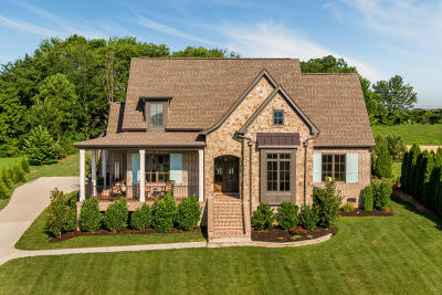 Ooltewah Single Family Home Contingent: 7363 Splendid View Dr